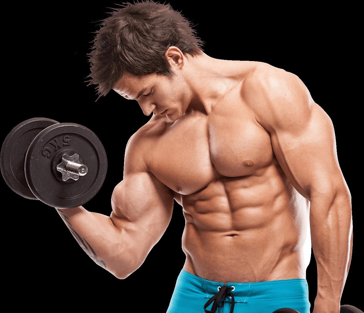 bodybuilder-met-gewicht
