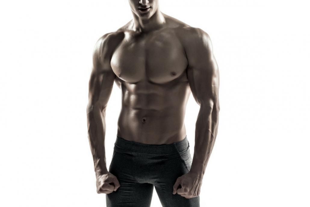 gespierde-torso-man