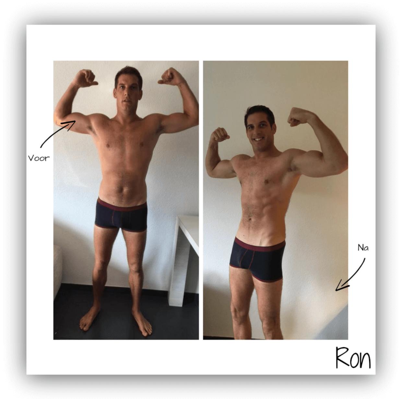dieet voor droog trainen mannen