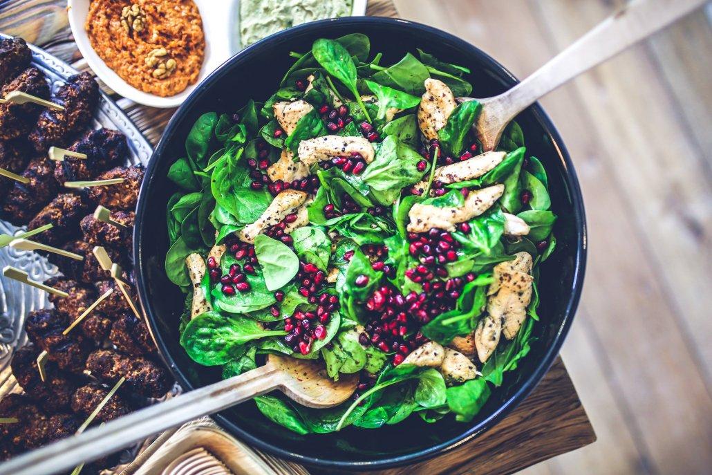 Voedzame salade