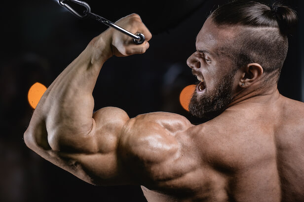 bicep curl cable