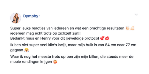 dymphy fb comment