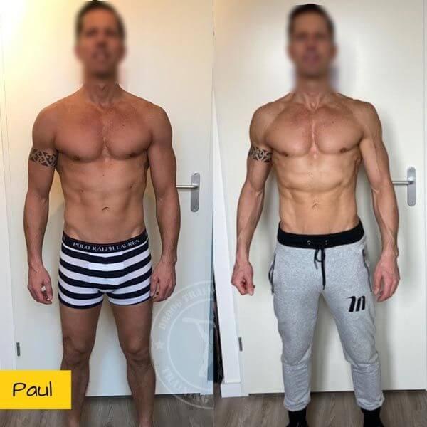 Droog Trainen Academie Transformaties Paul