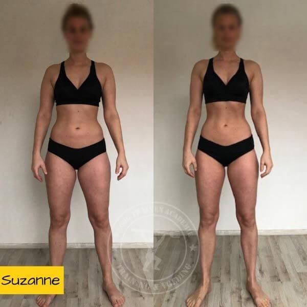 droog trainen academie transformatie Suzanne