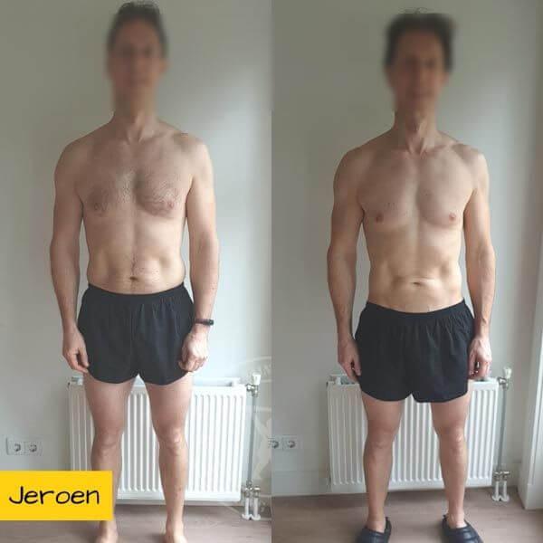 Droog Trainen Academie Transformaties Jeroen