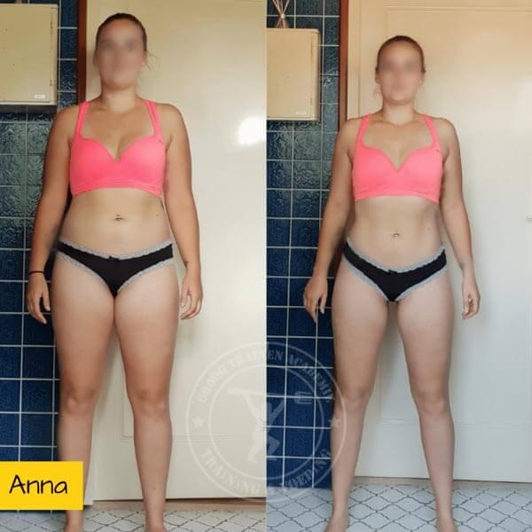 Droog Trainen Academie Transformaties Anne