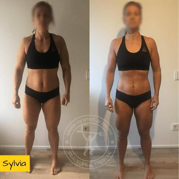 Droog Trainen Academie Transformaties Sylvia