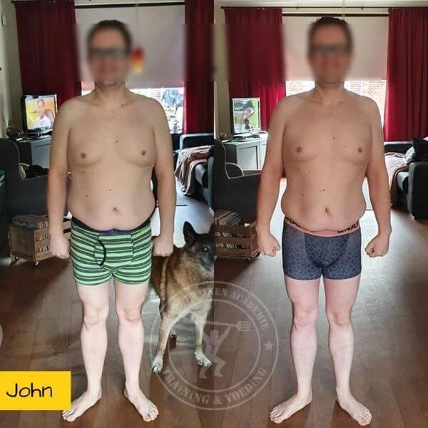 Droog Trainen Academie Transformaties John