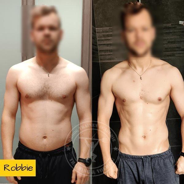 droog trainen academie transformatie Robbie