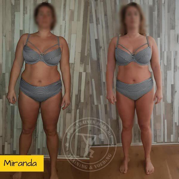 droog trainen academie transformatie Miranda