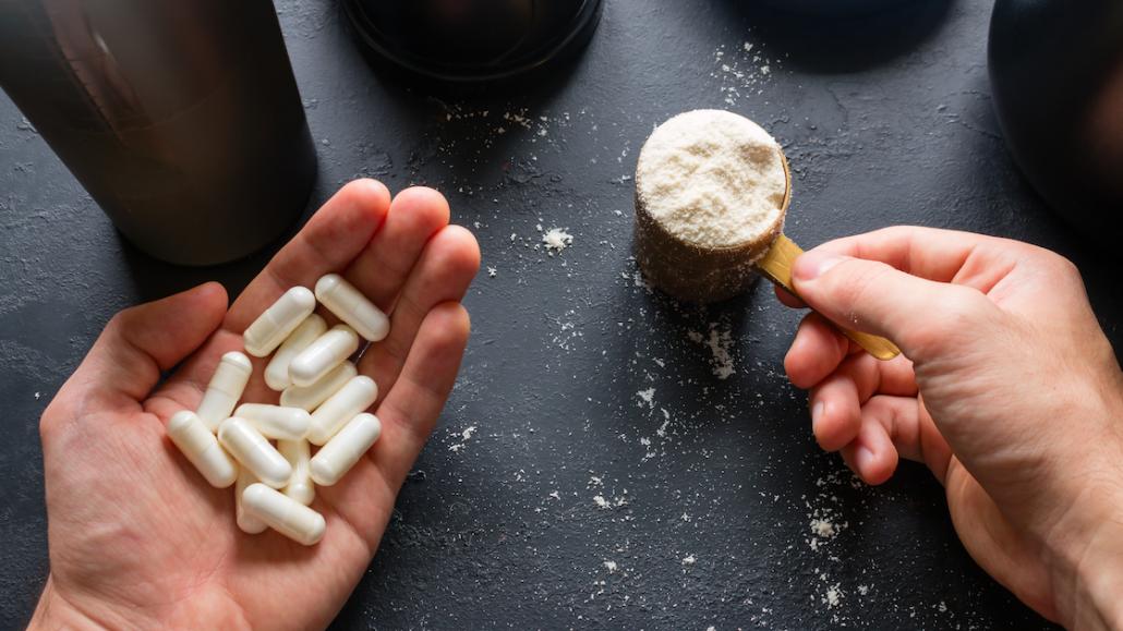 supplementen creatine monohydraat